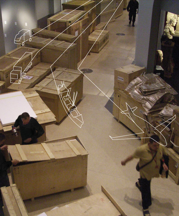 Art Transit International transporte vos oeuvres d'art